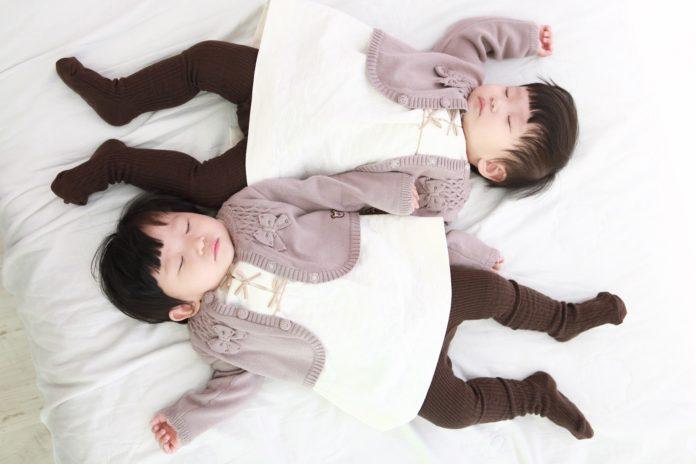 schlafende Zwillinge