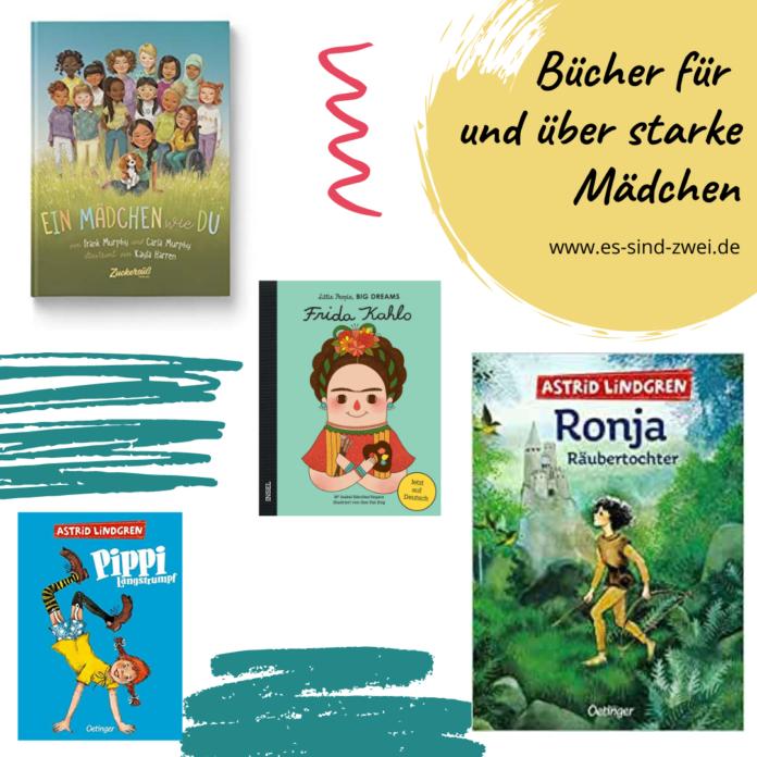 Es sind zwei DAS Zwillingsportal - Bücher für und über starke Mädchen