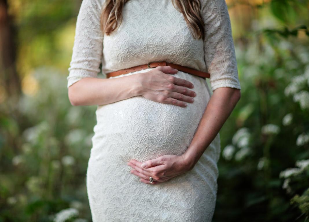 Es sind zwei DAS Zwillingsportal -Zwillingsschwangere